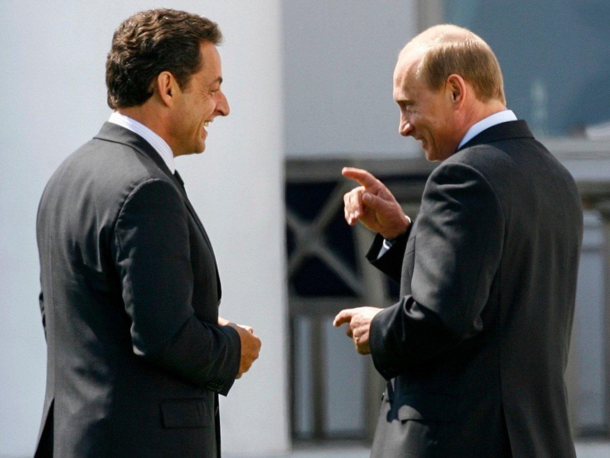 Саркози не поделил шоколадку с Путиным
