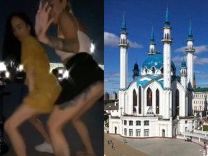 Непристойные танцы на фоне мечети Кул-Шариф разгневали Казань
