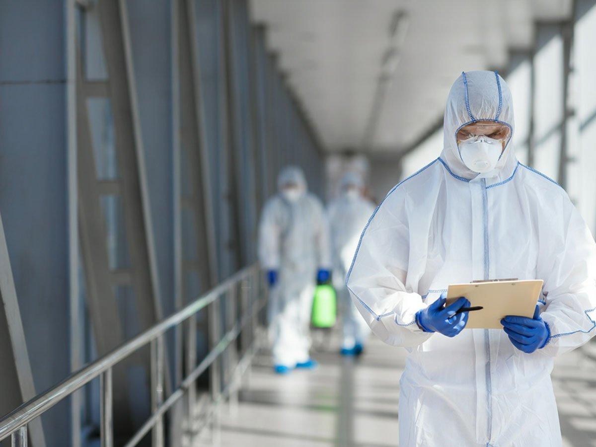 В РФ за сутки заразились 5482 человека