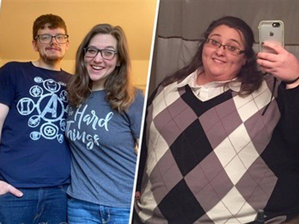Женщина сбросила 153 килограмма