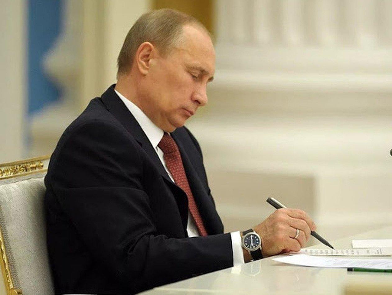 Путин раскрутил ручку, насмешив Сеть