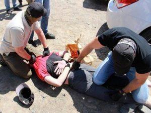 ФСБ опубликовала видео задержания боевиков в Ростовской области