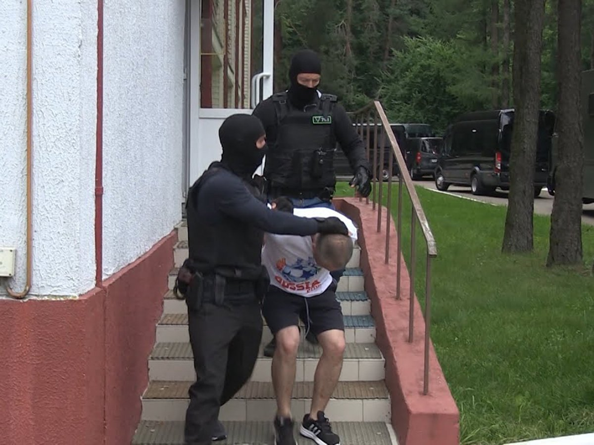 Задержание ЧВК Вагнера в Белоруссии