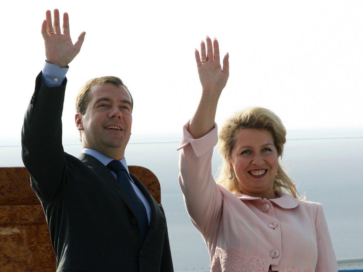 Жена Медведева Светлана
