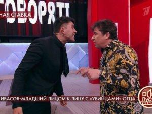 СынБари Алибасова затеял драку вэфире «Пусть говорят»