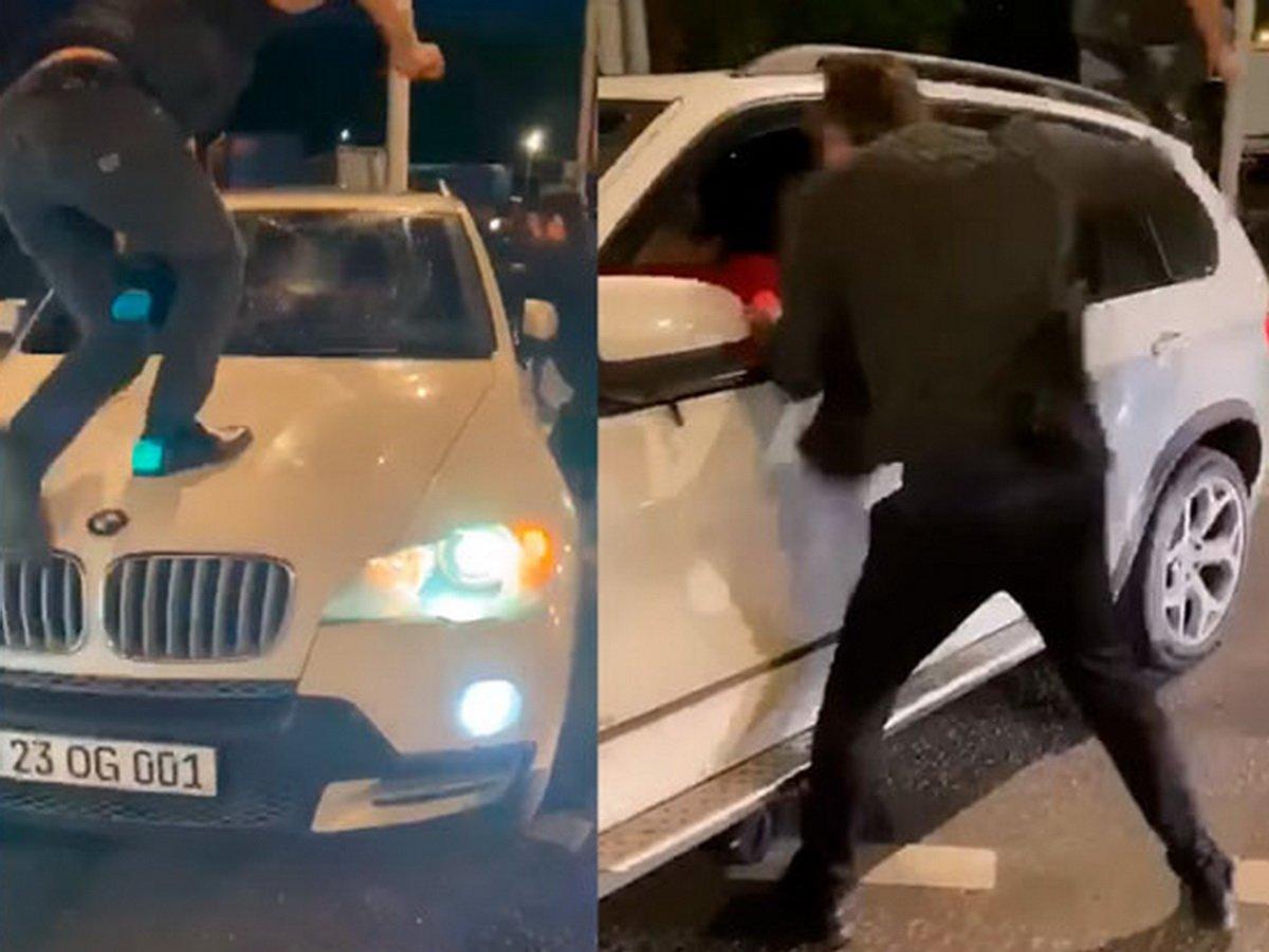 Драка азербайджанцев и армян в Москве