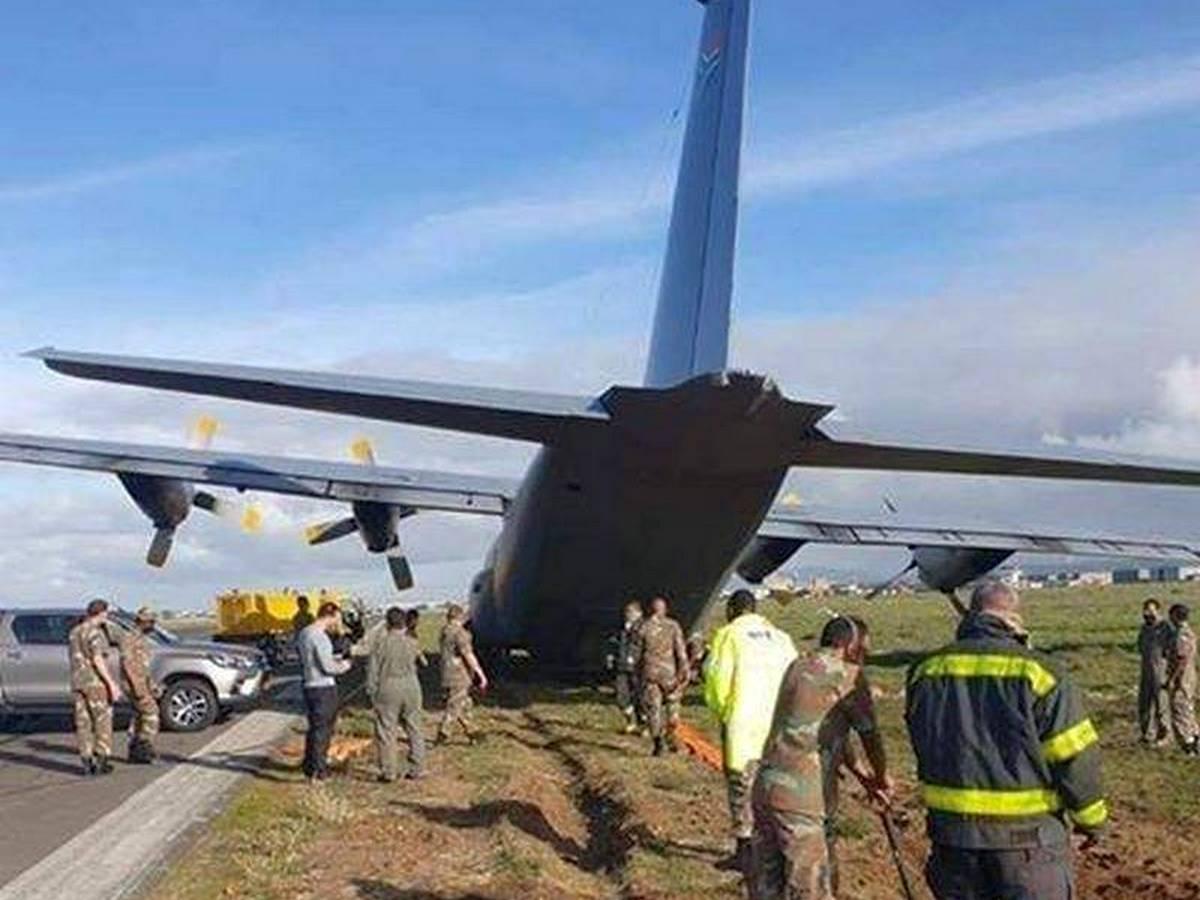 C-130 Hercules опозорился в ЮАР