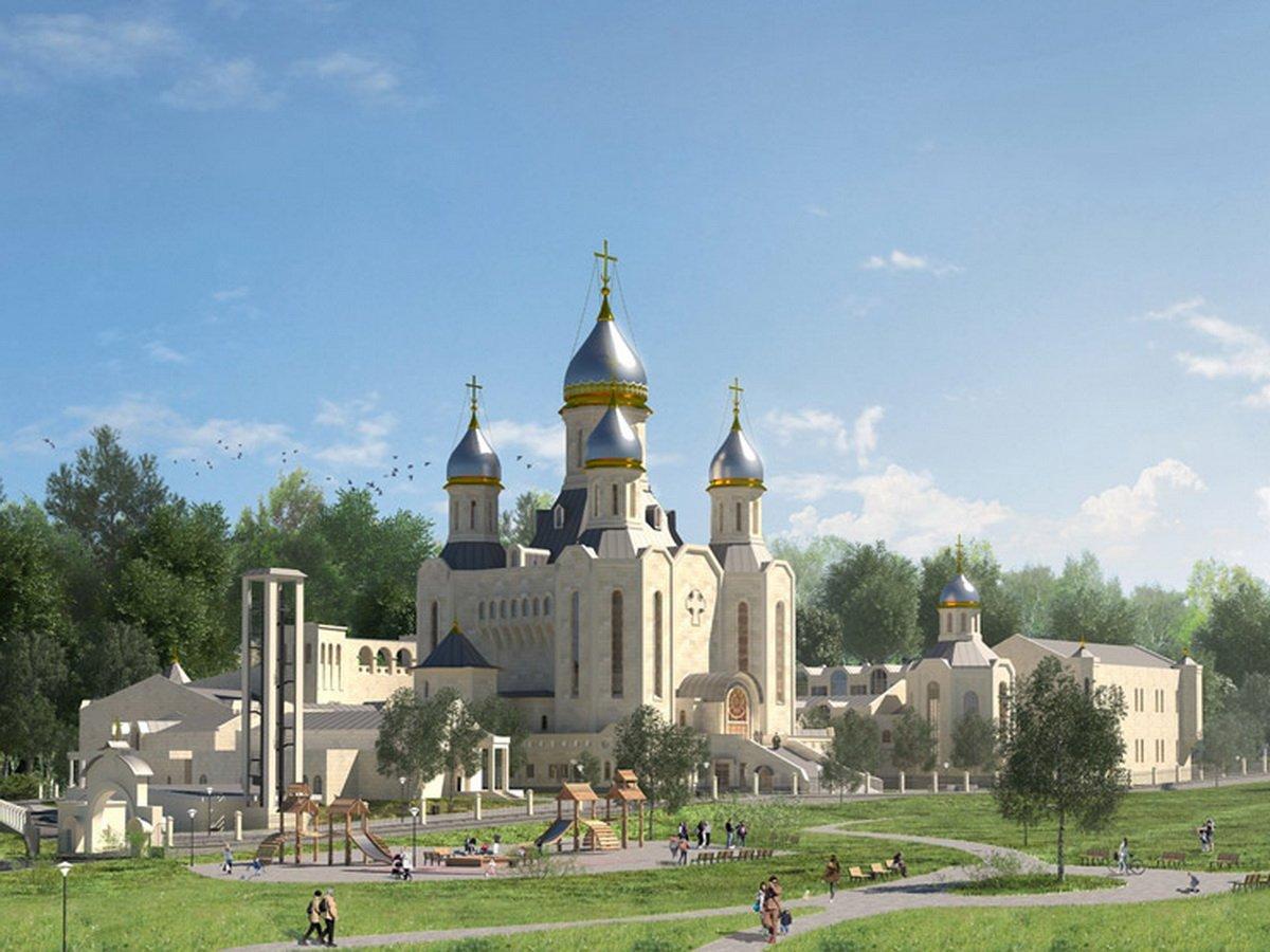 В Москве начали строить главный храм олимпийцев