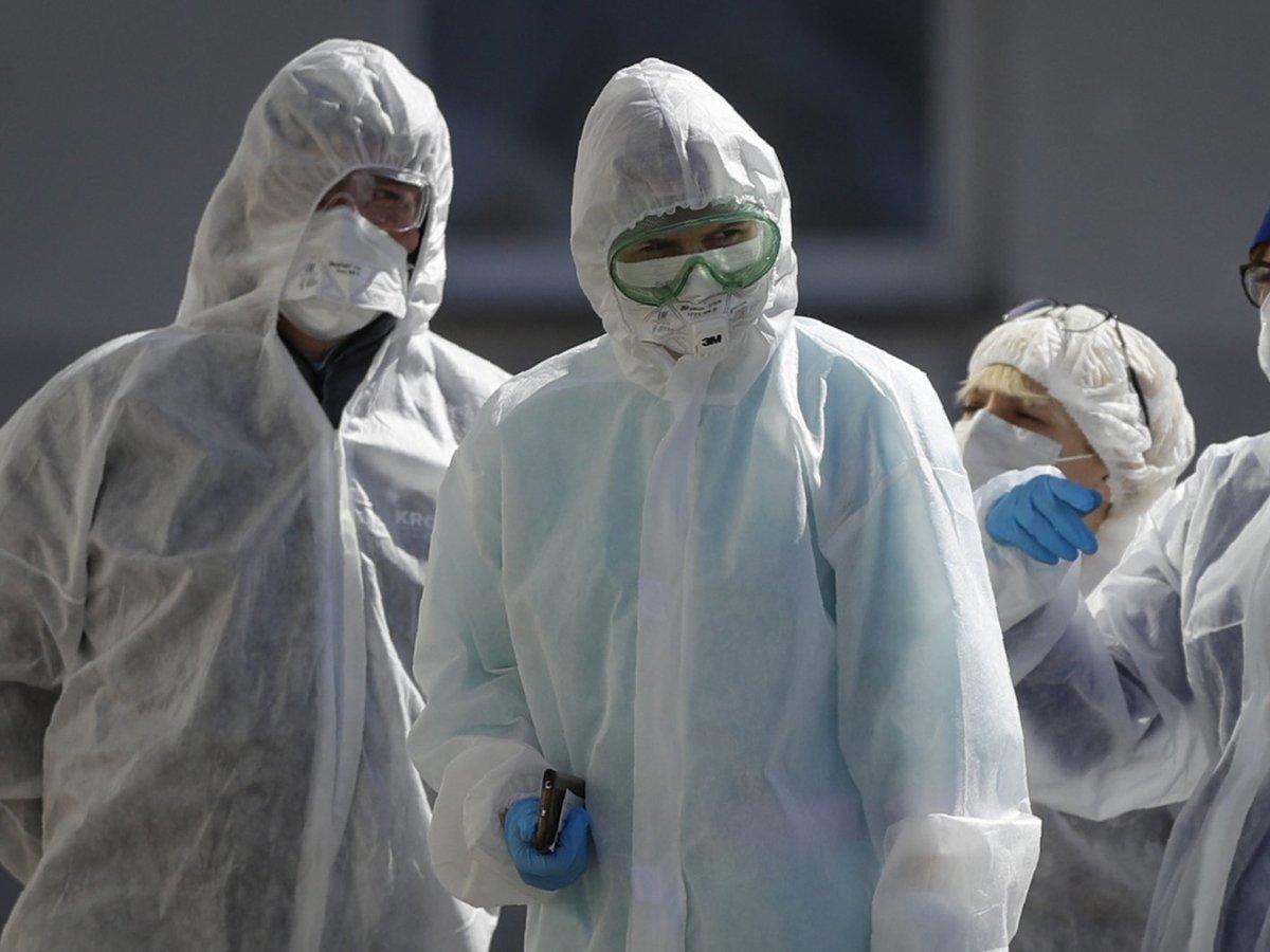За сутки в РФ коронавирусом заболели 6615 человек