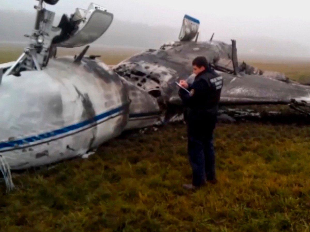 Сотрудников Внуково признали виновными в крушении самолета главы Total