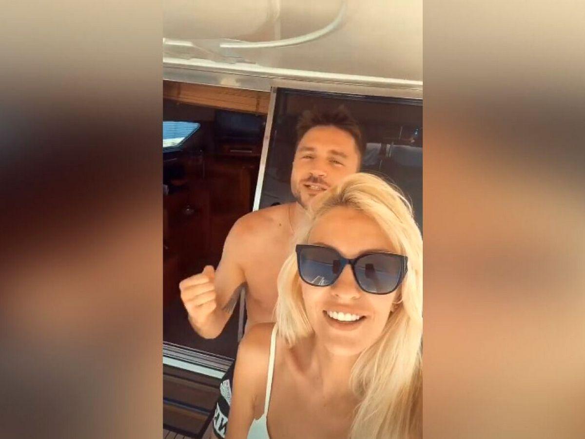 Сергей Лазарев с девушкой