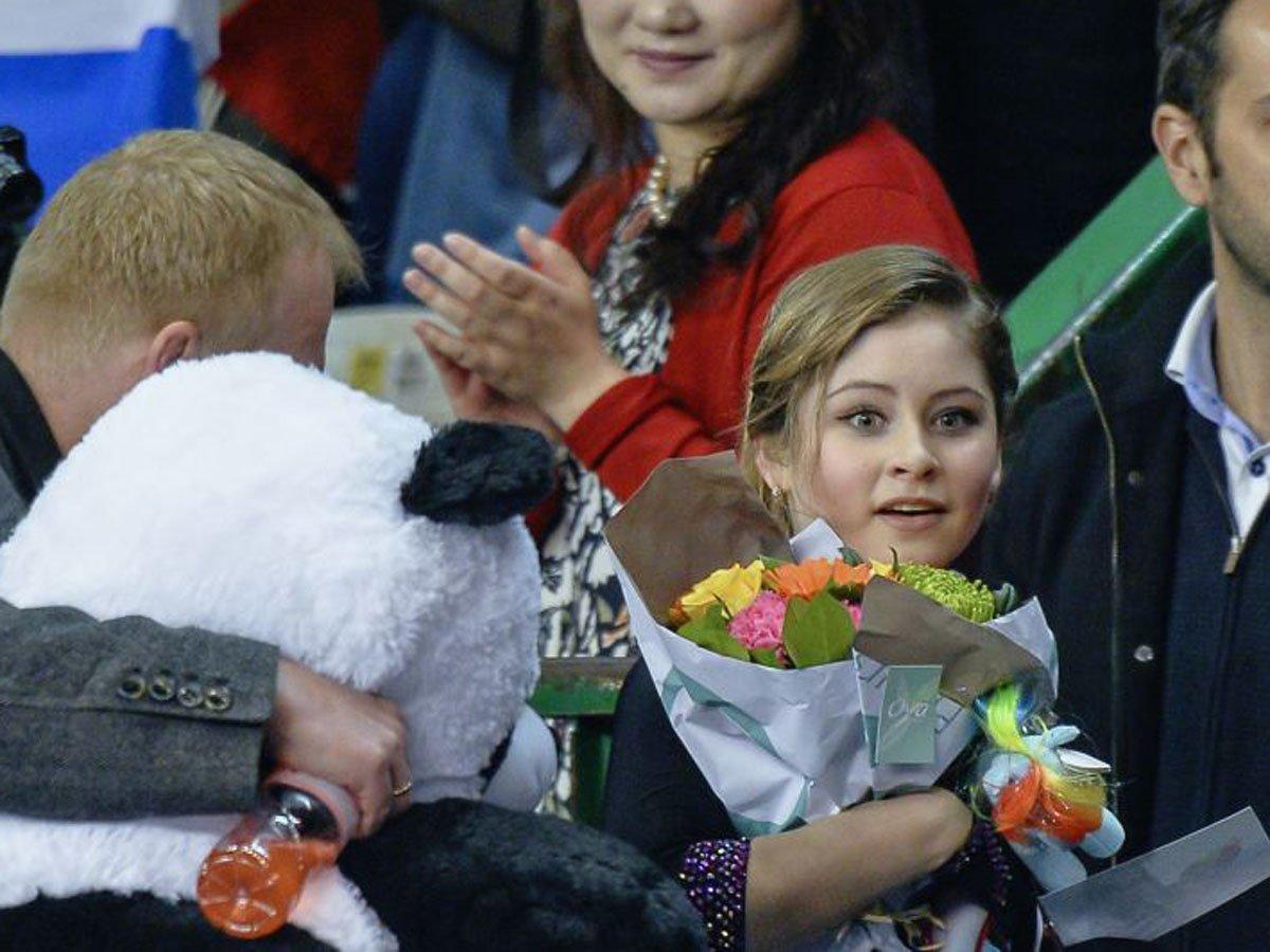 Липницкая впервые показала дочь