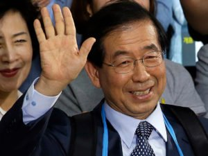 Обнаружен мертвым мэр Сеула Пак Вон Сун