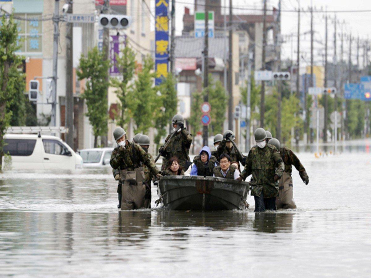 Наводнение на острове Кюсю