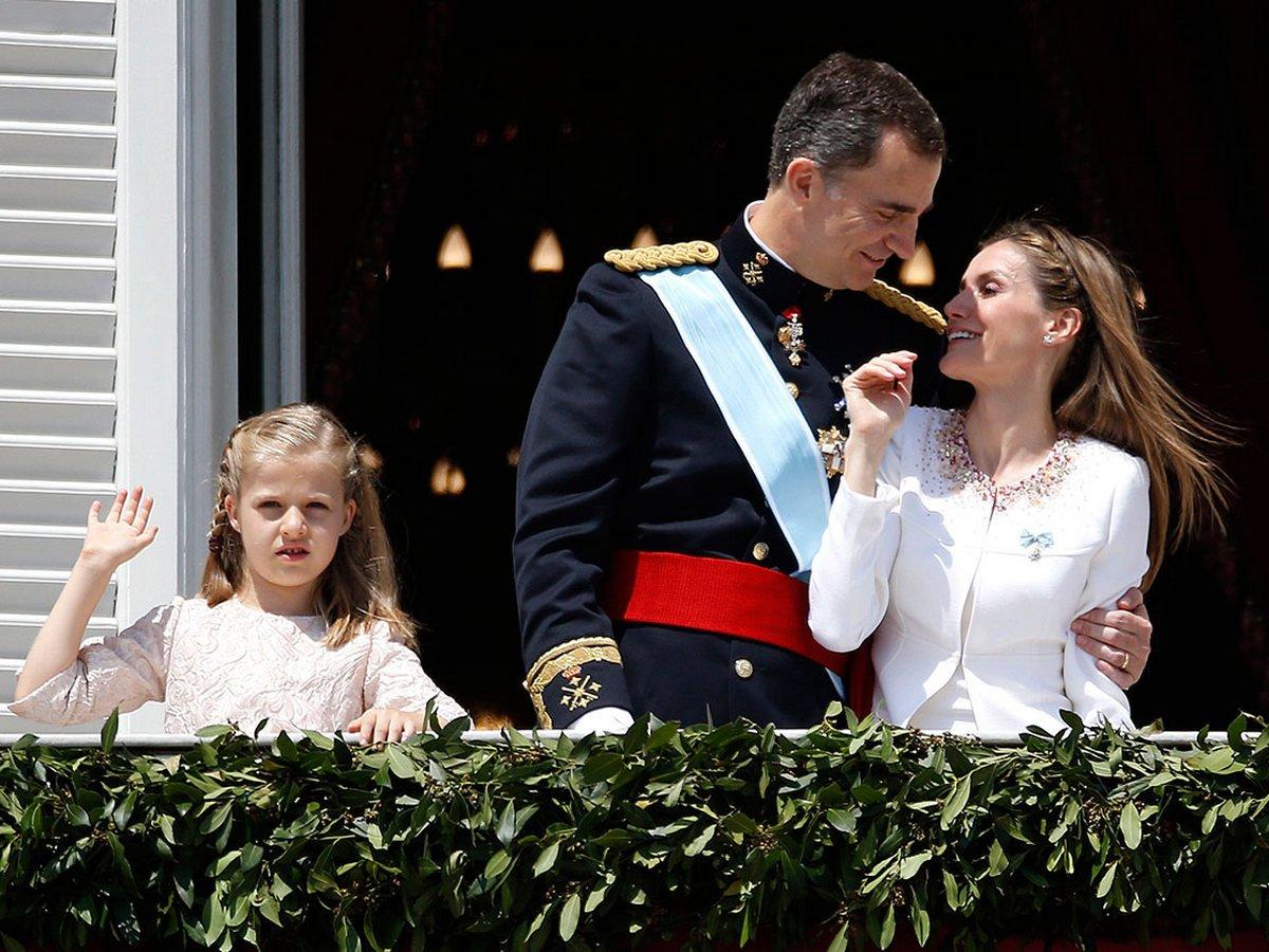 Филипп VI с семьей