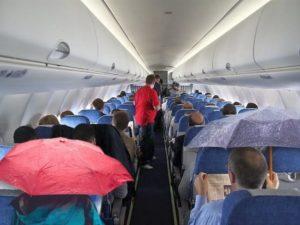 Дождь в самолете