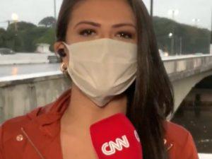 Ведущая телеканала CNN