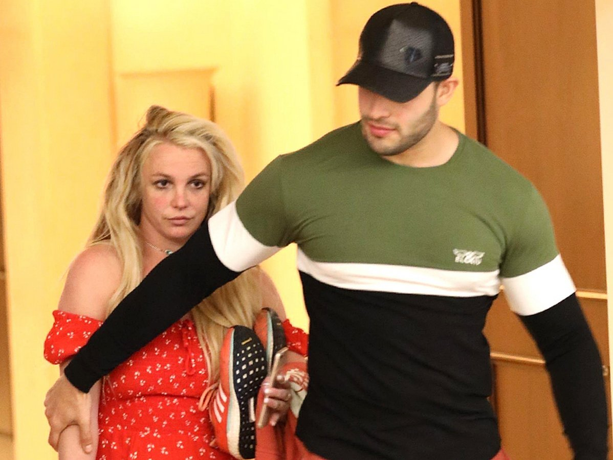 Бритни Спирс с Сэмом Асгари
