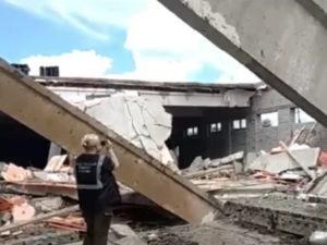 Обрушение стройки под Кировой