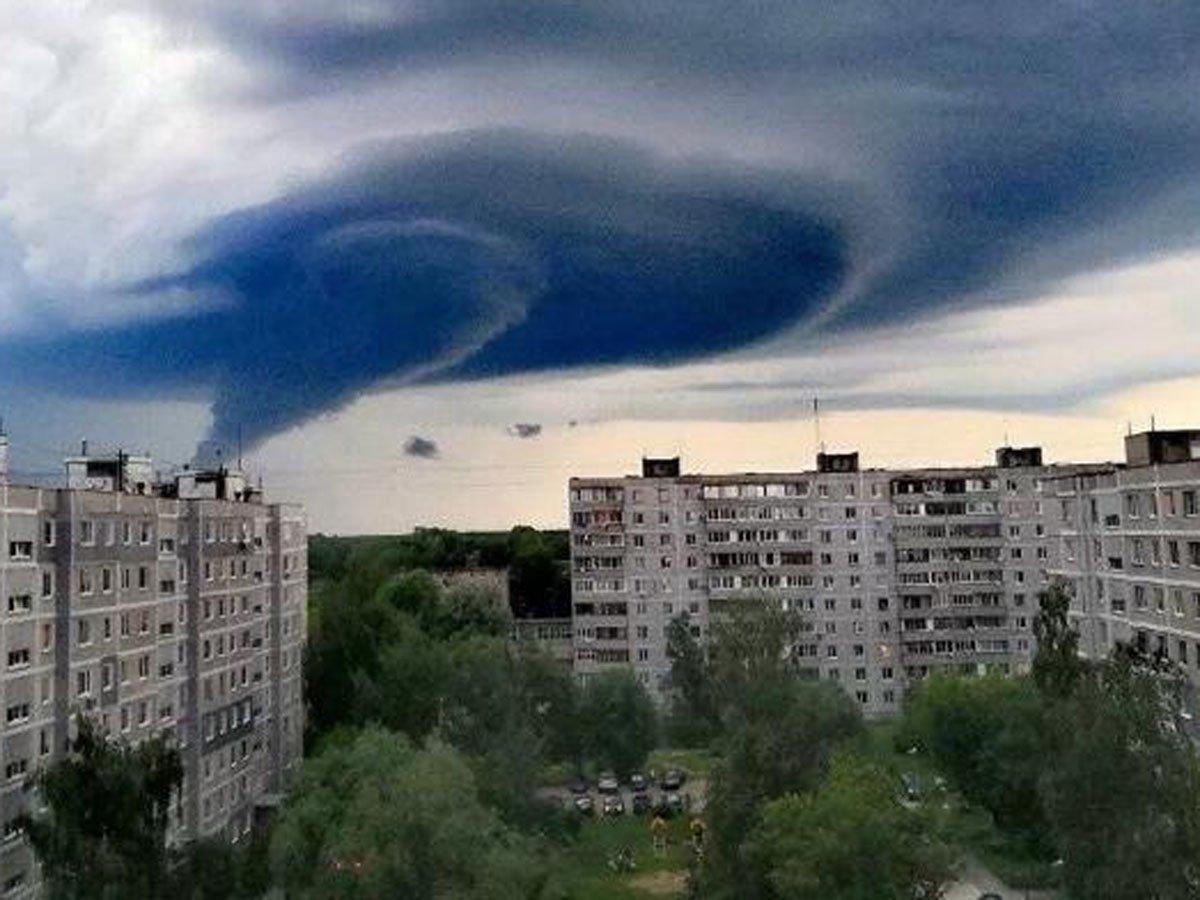 В Москве на видео сняли