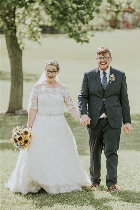 Пара похудела