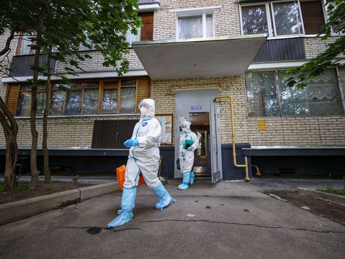 В России коронавирус обнаружили у 6509 человек за сутки