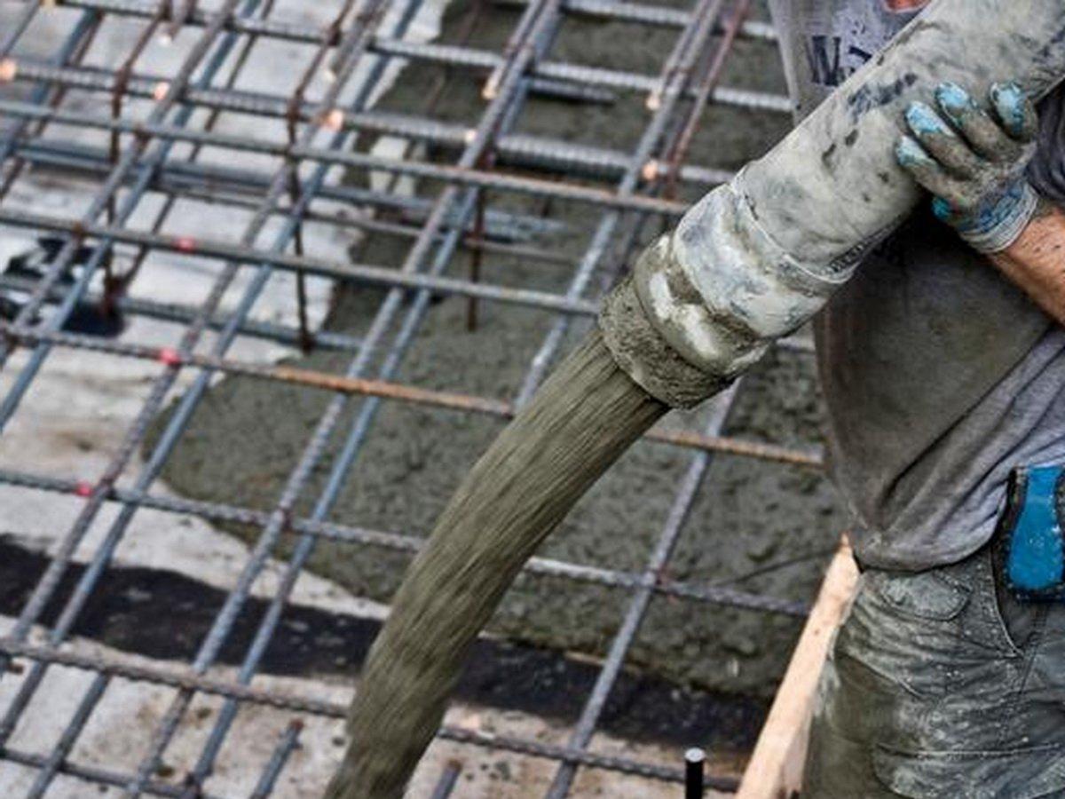 Жена замуровала мужа в бетон