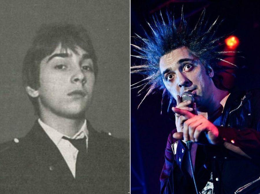 Культовые рок-звезды в юности