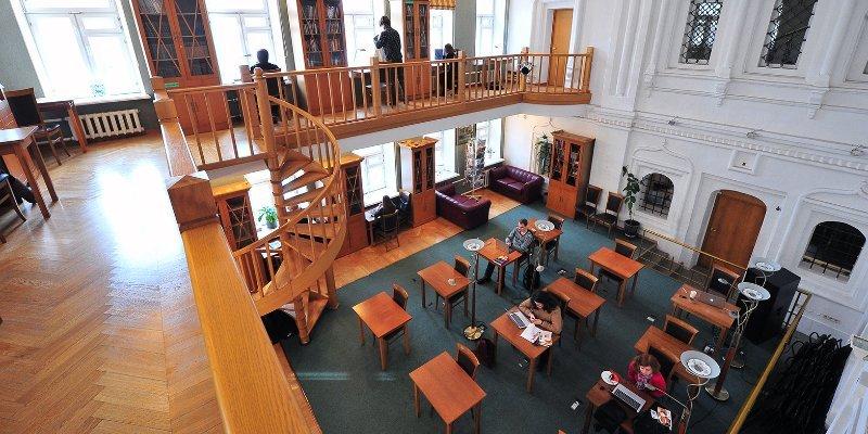 Самые красивые библиотеки России