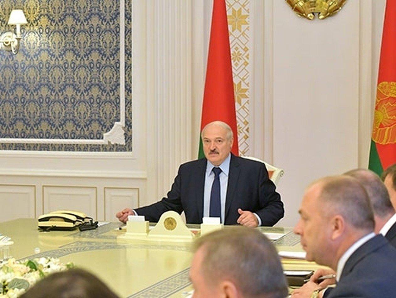 Лукашенко усиливает охрану на границе Белоруссии
