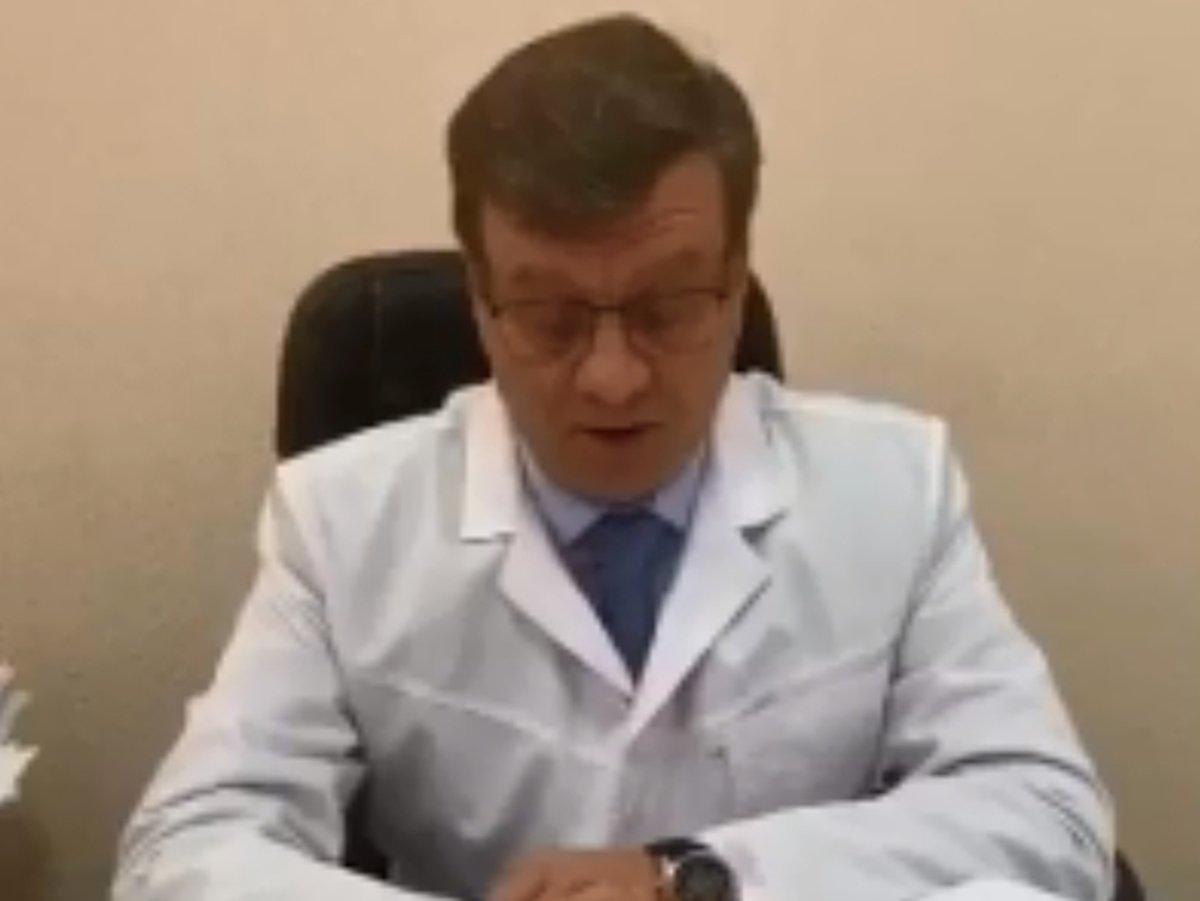 Главврач больницы в Омске Александр Мураховский