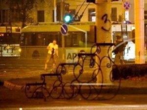 Момент гибели Александра Тайраковского в Минске