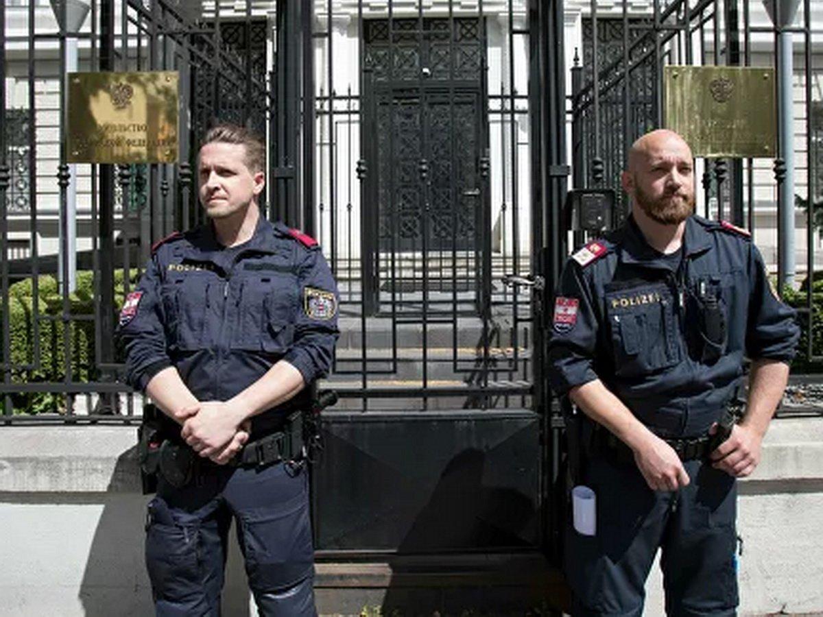 Австрия выслала российского дипломата
