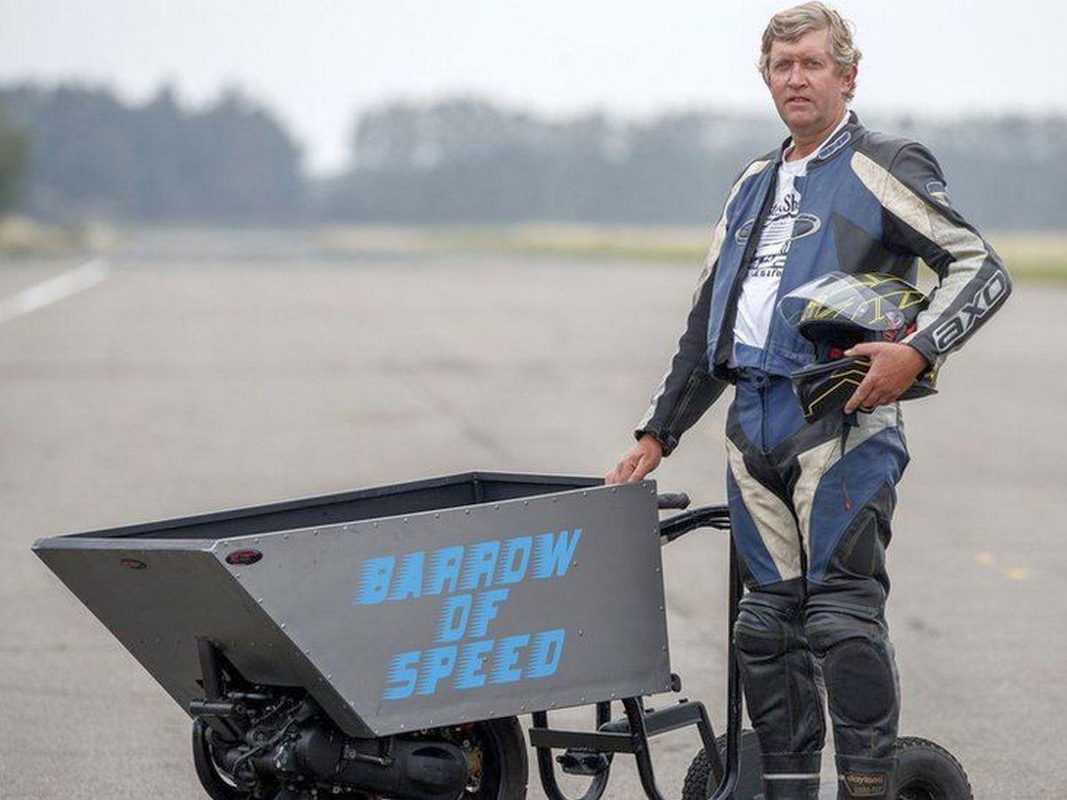 Кевин Никс и его Barrow of Speed