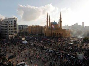 Бейрут охватили беспорядки
