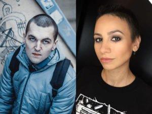 Энди Картрайт с женой Мариной Кохал