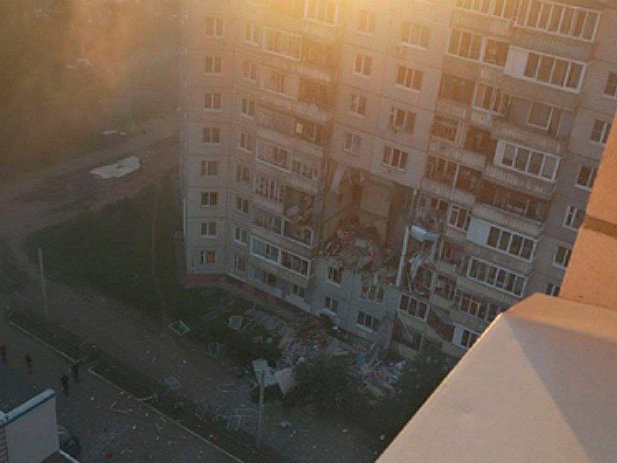 Взрыв произошел вдоме вЯрославле