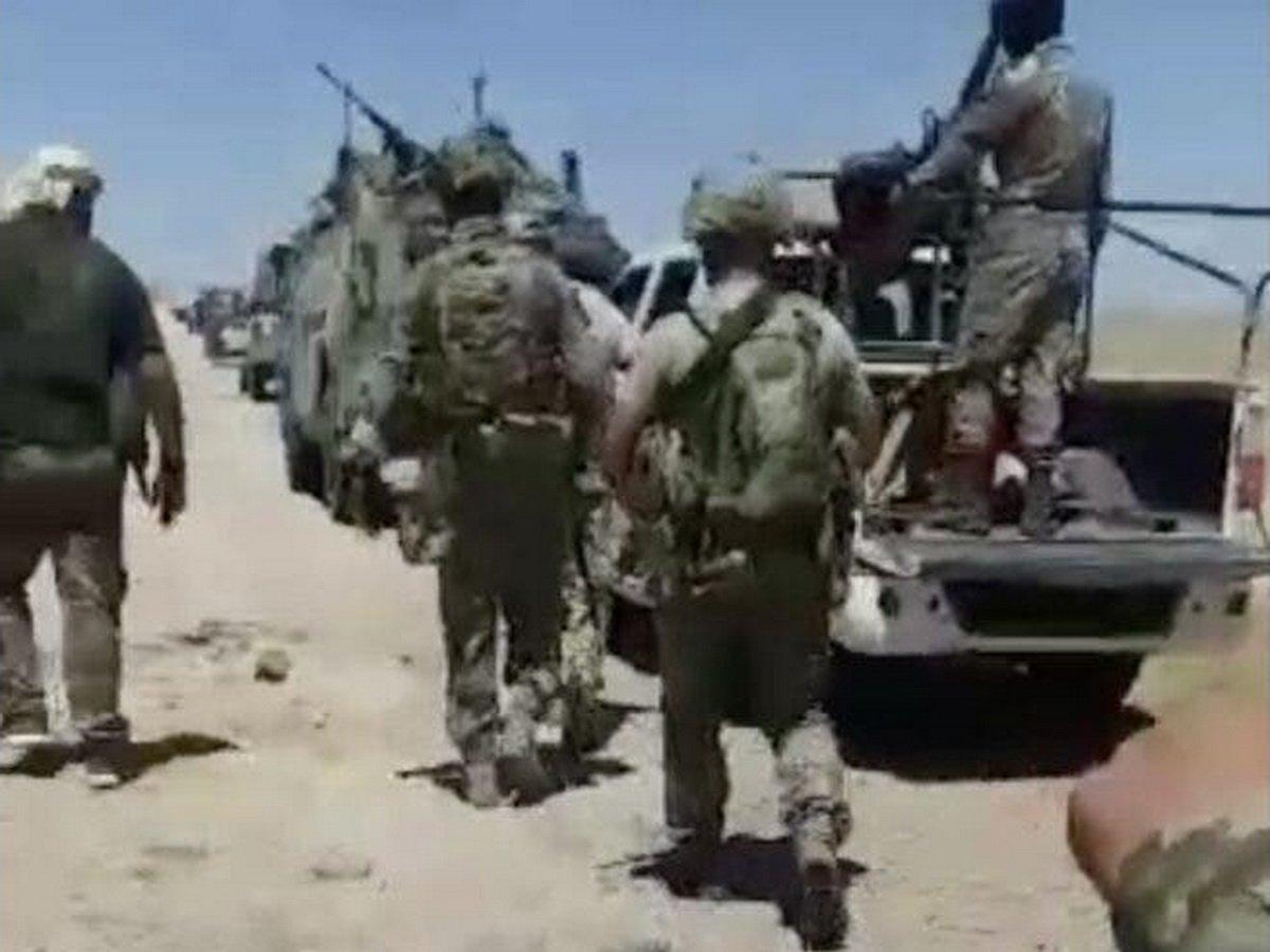 Гибель российского генерала в Сирии попала на видео