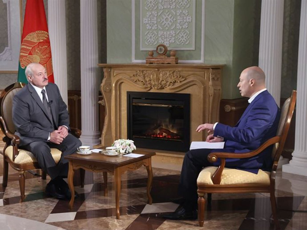 Гордон и Лукашенко