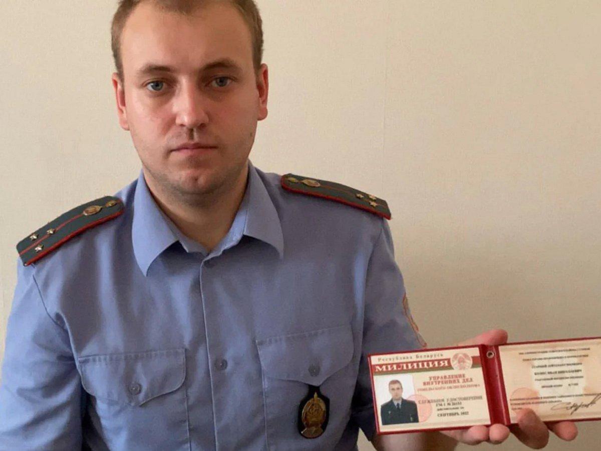 Участковый Иван Колос покинул Беларусь