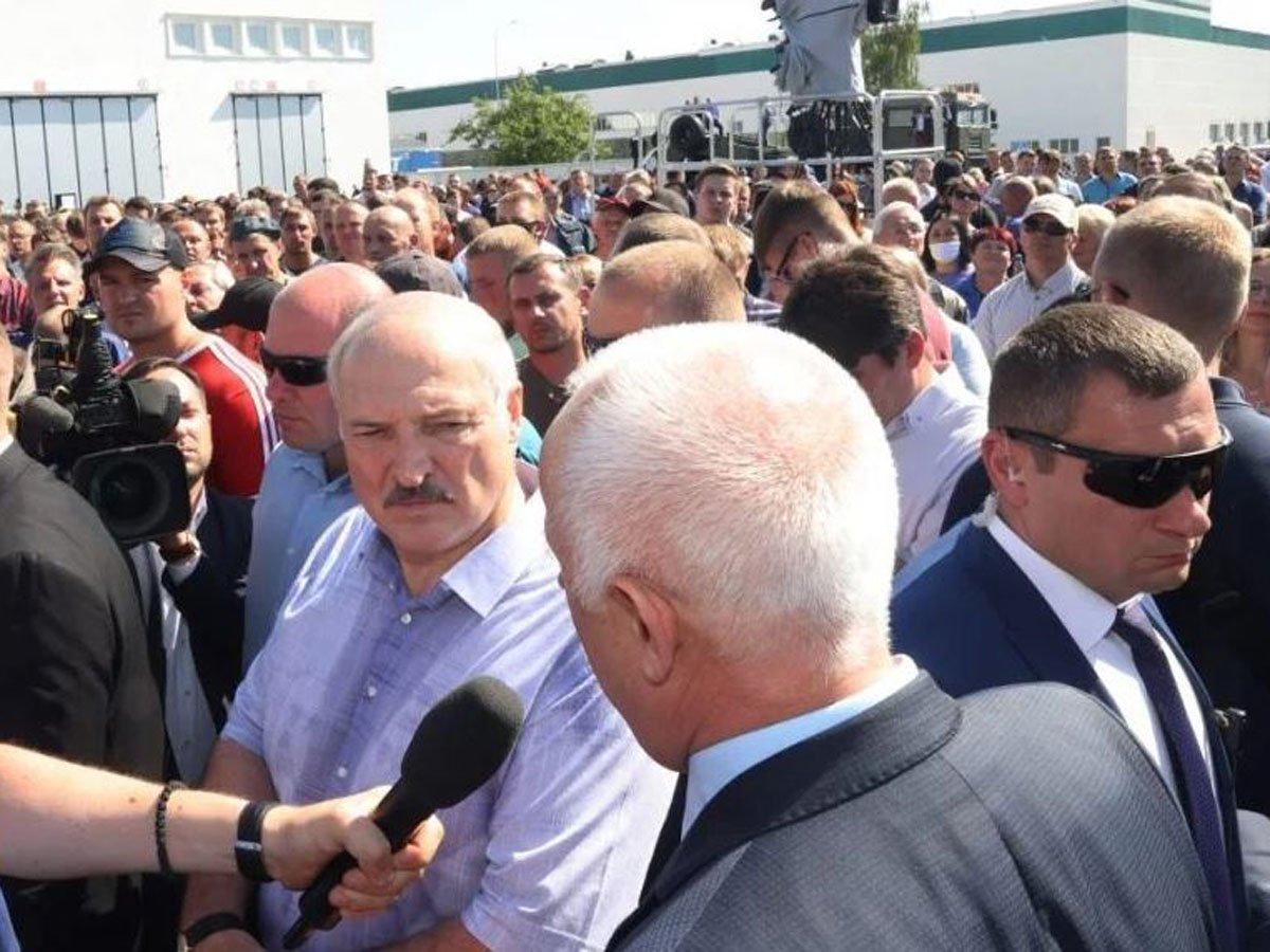Лукашенко о Белоруссии как кордоне против России