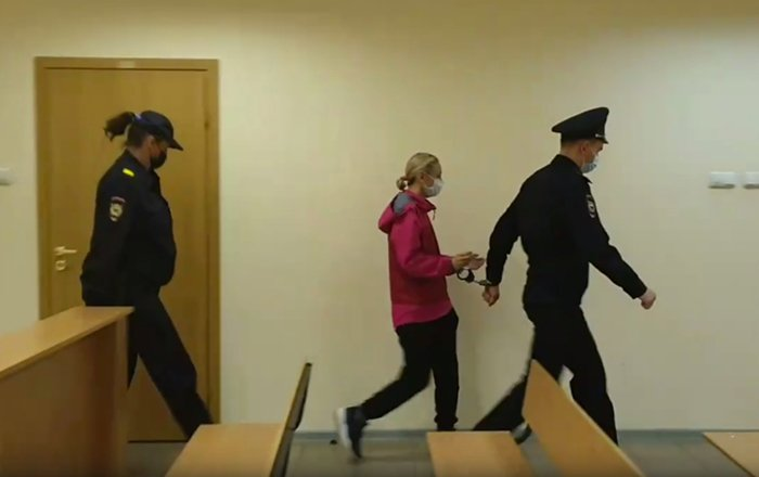 Марина Кохал в суде