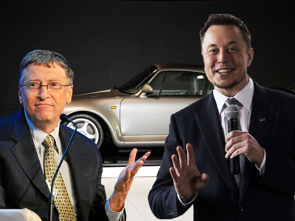 Маск отрицает интимную связь с Гейтсом