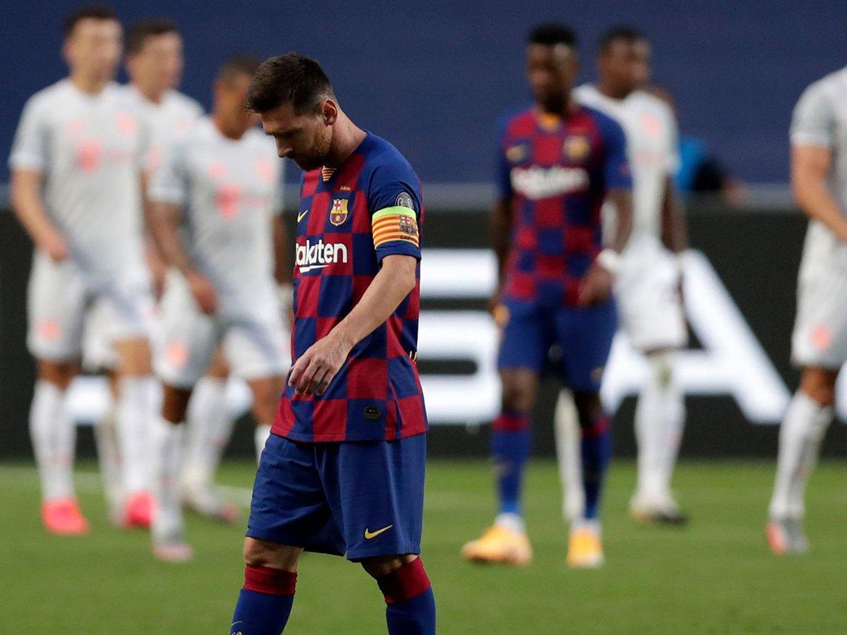 Барселона проиграла Баварии