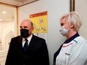 «Нет, нельзя»: медик наорала на Мишустина, гуляющего по больнице