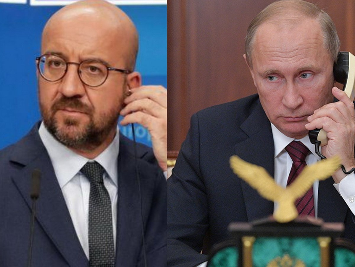 Глава ЕС Мишель позвонил Путину о Навальном
