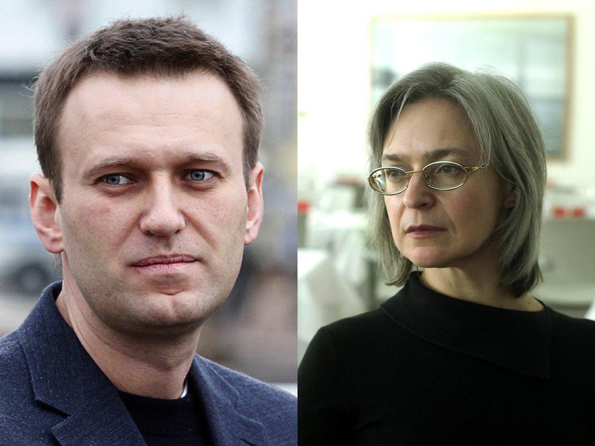Отравление Навального сравнили с покушением на Политковскую