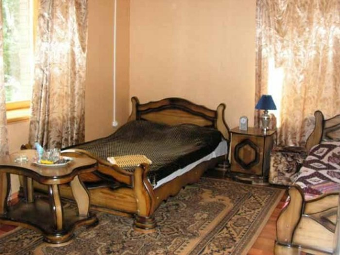 Номер гостиницы турбазы, где убили семью чиновника