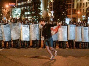 «Милиция с народом»: милиционеры в Белоруссии массово увольняются в знак протеста