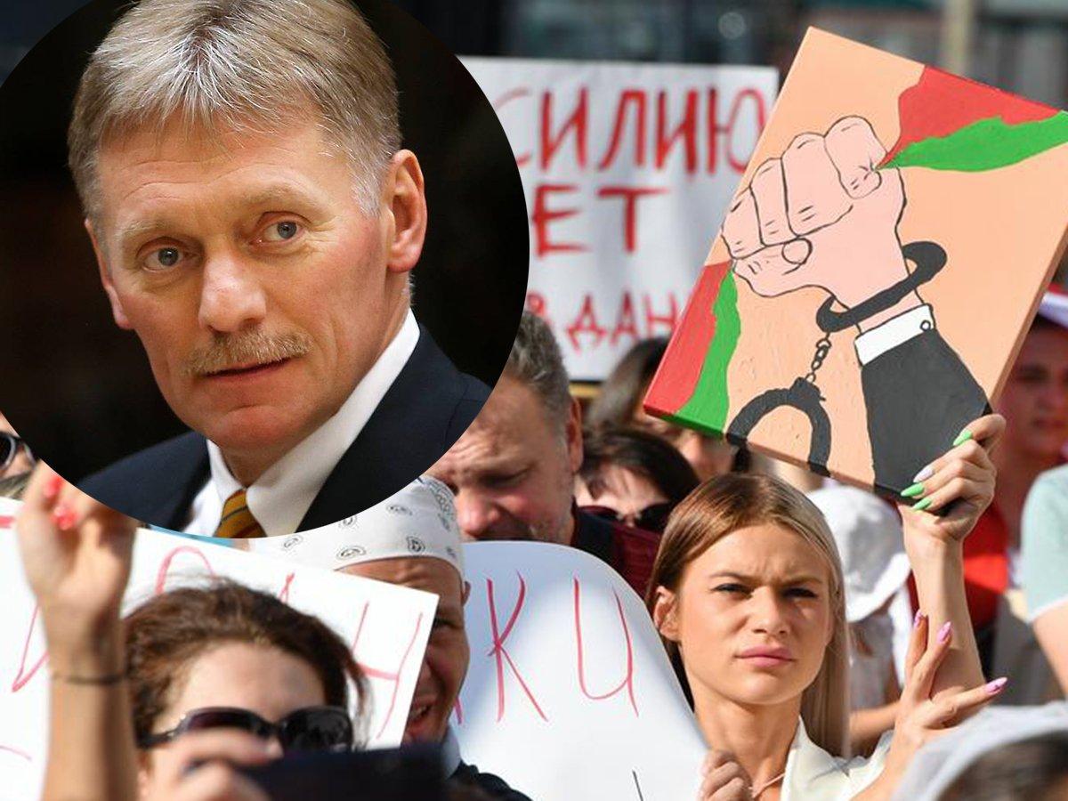 Песков прокомментировал протесты в Белоруссии